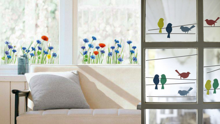 Window decorative paper