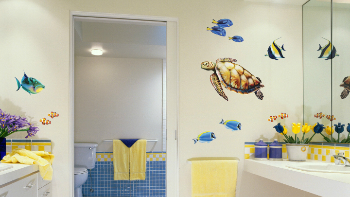 fun bathroom