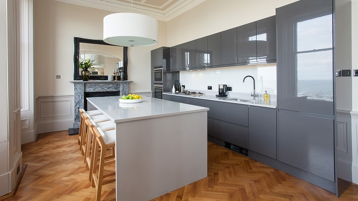 Colors and materials for the kitchen