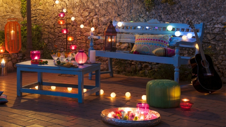 light your terrace