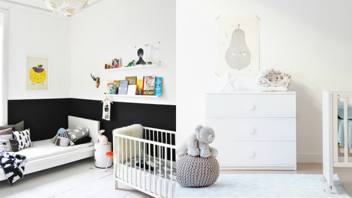 decorating the baby's room