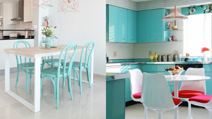 decorating in turquoise