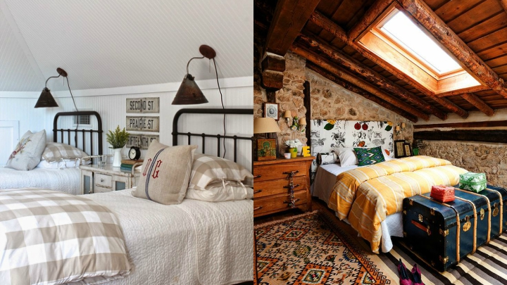 country touch to your bedroom