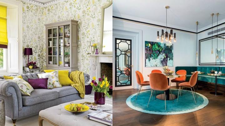 combine colors in interiors