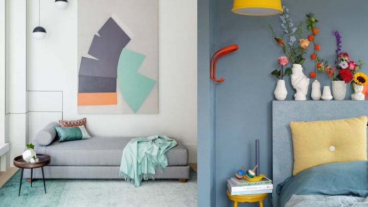 combine colors in interiors