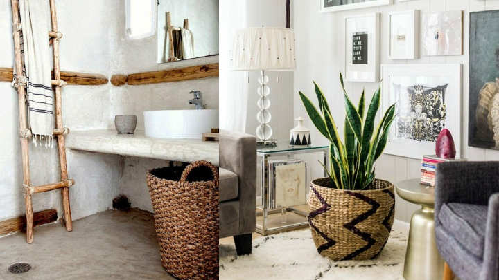 decorating with basket